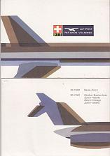 Buy SCHWEIZ SWITZERLAND [Beleg] Swissair 50 Jahre ( Sonder-O ) Flugzeuge