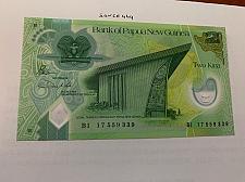 Buy Papua New Guinea 2 kina uncirc. polymer banconota 2017
