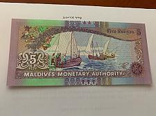 Buy Maldives 5 rufiyaa uncirc. banknote 2011