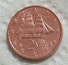 Buy Greece 1 cents euro uncirc. coins 2017