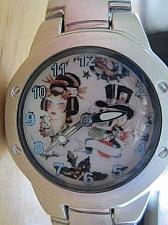 Buy New Womens Silver Tone watch Tattoo Art