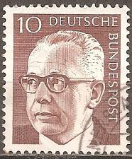 Buy [GE1029] Germany: Sc. no. 1029 (1970) Used