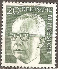 Buy [GE1030] Germany: Sc. no. 1030 (1970) Used