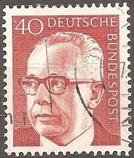 Buy [GE1032] Germany: Sc. no. 1032 (1971) Used