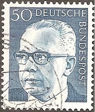 Buy [GE1033] Germany: Sc. no. 1033 (1971) Used