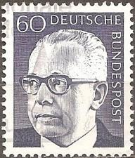 Buy [GE1034] Germany: Sc. no. 1034 (1971) Used