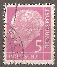 Buy [GE0704] Germany: Sc. no. 704 (1954-1960) Used
