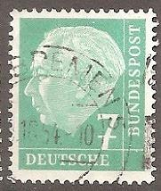 Buy [GE0706] Germany: Sc. no. 706 (1954-1960) Used