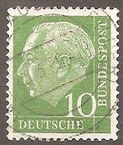 Buy [GE0708] Germany: Sc. no. 708 (1954-1960) Used