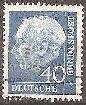 Buy [GE0756] Germany: Sc. no. 756 (1956-1957) Used
