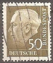 Buy [GE0757] Germany: Sc. no. 757 (1956-1957) Used