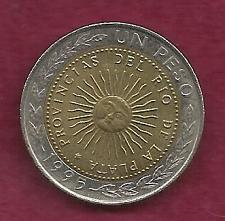 Buy ARGENTINA 1 Peso 1995 Coin