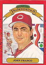 Buy John Franco #14 - Reds 1990 Donruss Baseball Trading Card