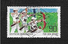 Buy German Used Scott #B599 Catalog Value $1.15