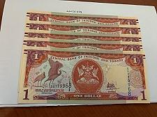Buy Trinidad and Tobago lot of 5 uncirc. banknotes 2006