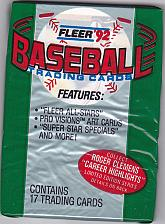 Buy Fleer 1992 Baseball Cards Factory Sealed Pack