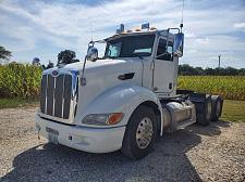 Buy 2012 Peterbilt 386 Day Cab Semi Tractor