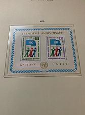 Buy United Nations Geneve 30th Anniversary s/s 1975 mnh stamps