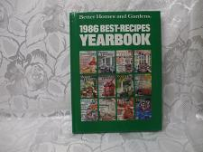 Buy Hardcover Better Homes And Gardens 1986 Best Recipes Yearbok