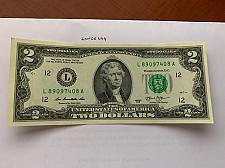 Buy United States Jefferson $2 crispy banknote 2013 #7