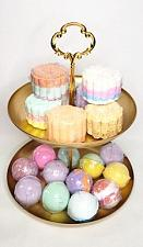 Buy Bath Bomb Tarts Set of 4/ Set of 6 Small Bath Bombs - Choose A Scent