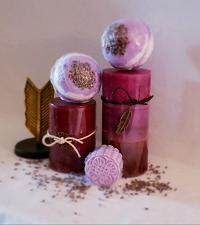 Buy XL Bath Bombs with Botanicals, Zests or Coffee/ 7 oz. & 3 inches round/ Set of 2/4/6