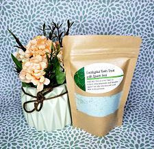 Buy Wild Rose, Lavender, Eucalyptus Bath Epsom Salts/2 lb./1 lb./5 oz.