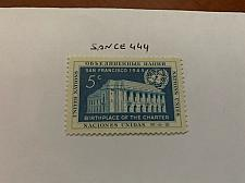 Buy United Nations Memorial 1952 mnh stamps