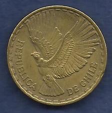 Buy Chile 10 Centesimos 1963 - Condor in Flight