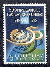 Buy URUGUAY [1995] MiNr 2125 ( **/mnh ) UNO 50 Jahre