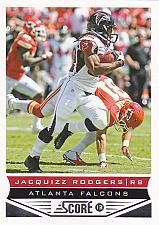 Buy Jacquizz Rodgers #11 - Falcons 2013 Score Football Trading Card
