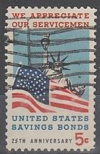 Buy [US1320] United States: Sc. no. 1320 (1966) Used Single