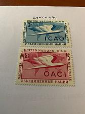 Buy United Nations I.C.A.O. 1955 mnh stamps