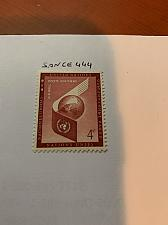 Buy United Nations Airmail 4c 1957 mnh stamps