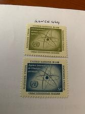 Buy United Nations Atomic agency 1958 mnh stamps