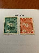 Buy United Nations UNO day 1958 mnh stamps