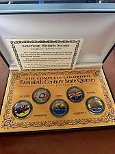 Buy United States The Complete Colorized Twentieth Century State Quarters coin
