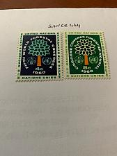 Buy United Nations World forests 1960 mnh stamps