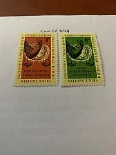 Buy United Nations Court of Justice 1961 mnh stamps