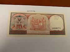 Buy Suriname 10 gulden uncirc. banknote 1963 #1
