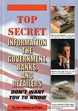Buy Secret Information Government, Banks, Retailers Don't Want You To Know FREE Shipping