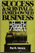 Buy SUCCESS & SURVIVAL in the FAMILY-OWNED BUSINESS HB w/DJ :: FREE Shipping