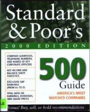 Buy Standard & Poor's 500 Guide 2000 Edition :: FREE Shipping