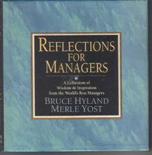 Buy REFLECTIONS FOR MANAGERS :: Wisdom & Inspiration :: FREE Shipping