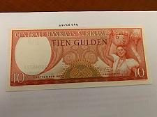 Buy Suriname 10 gulden uncirc. banknote 1963 #2