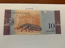 Buy Venezuela 10 bolivares uncirc. banknote 2018 #1