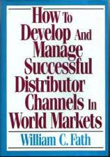 Buy Develop & Manage Distributor Channels In World Markets :: FREE Shipping