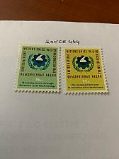 Buy United Nation Science and Technics 1963 mnh stamps