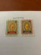 Buy United Nations Human rights 1963 mnh stamps