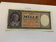 Buy Italy Medusa Testina 1000 lire banknote 1947 #11